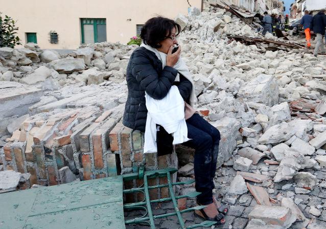 بلدة أماتريسي الإيطالية التي ضربها زلزال بلغت قوته 6.1 — 6.2 درجة