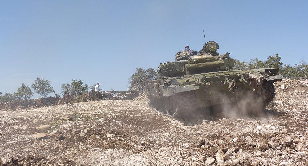 الجيش السوري يقوم بعملية عسكرية واسعة