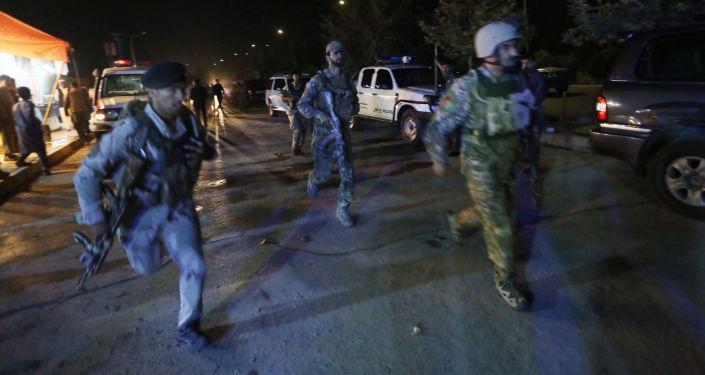 انفجار قرب الجامعة الأمريكية في كابول