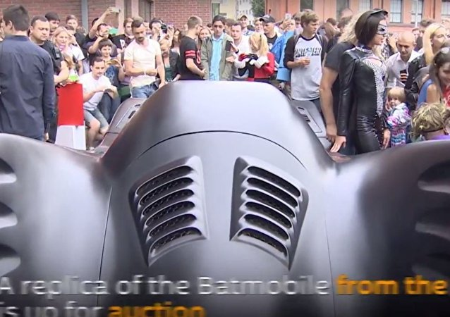 سيارة باتمان فى موسكو