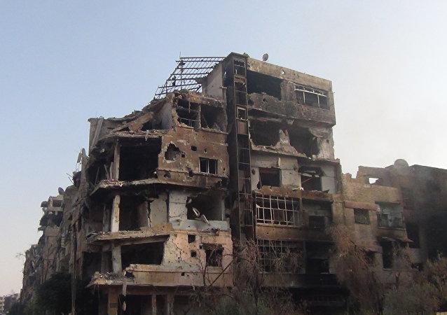 داريا السورية تحولت إلى مدينة الأشباح