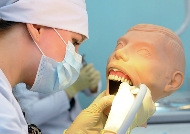 Students at Department of Dentistry, Chelyabinsk Medical Academy