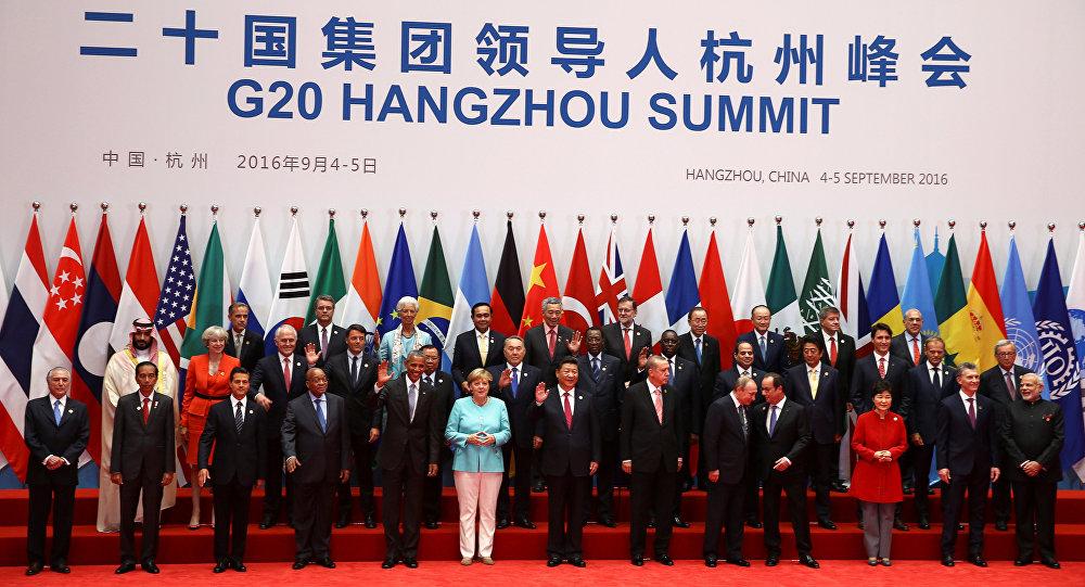 افتتاح قمة مجموعة العشرين في الصين