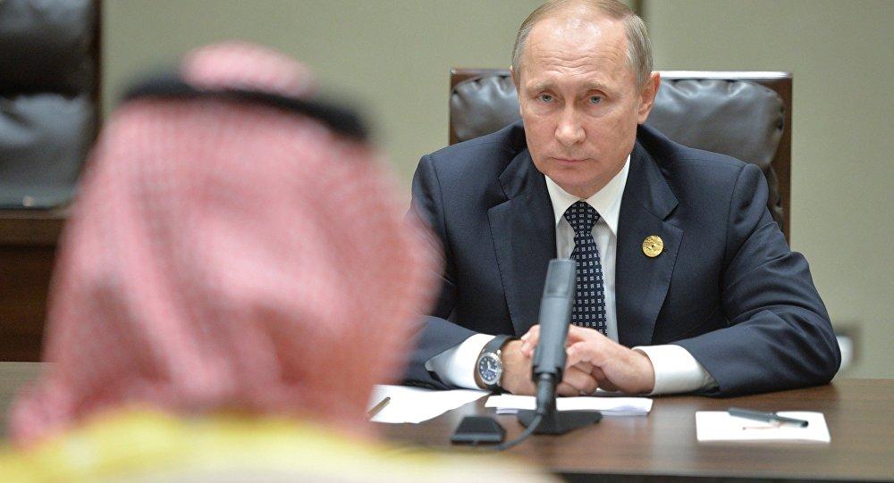 بوتين مع ولي ولي العهد السعودي