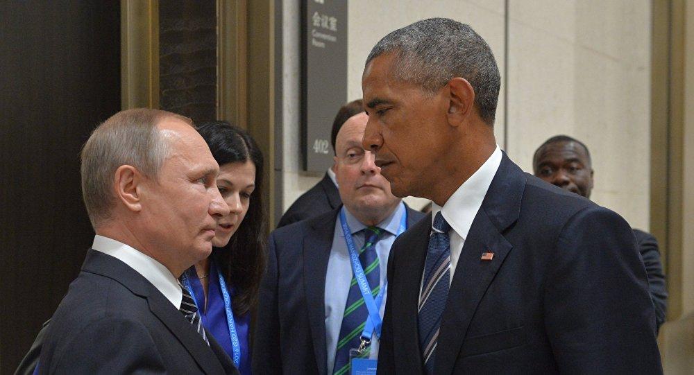 بوتين وأوباما
