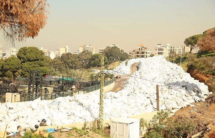 أزمة النفايات مستمرة في لبنان