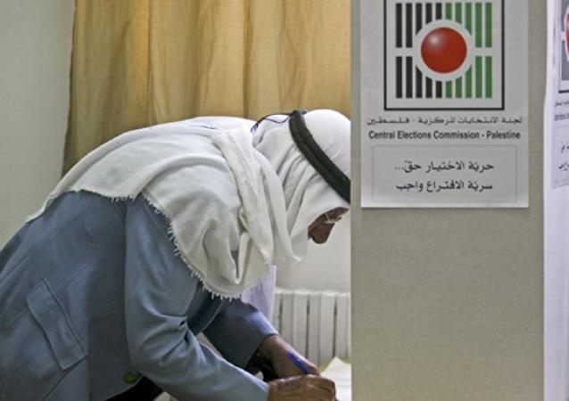 الانتخابات المحلية في فلسطين