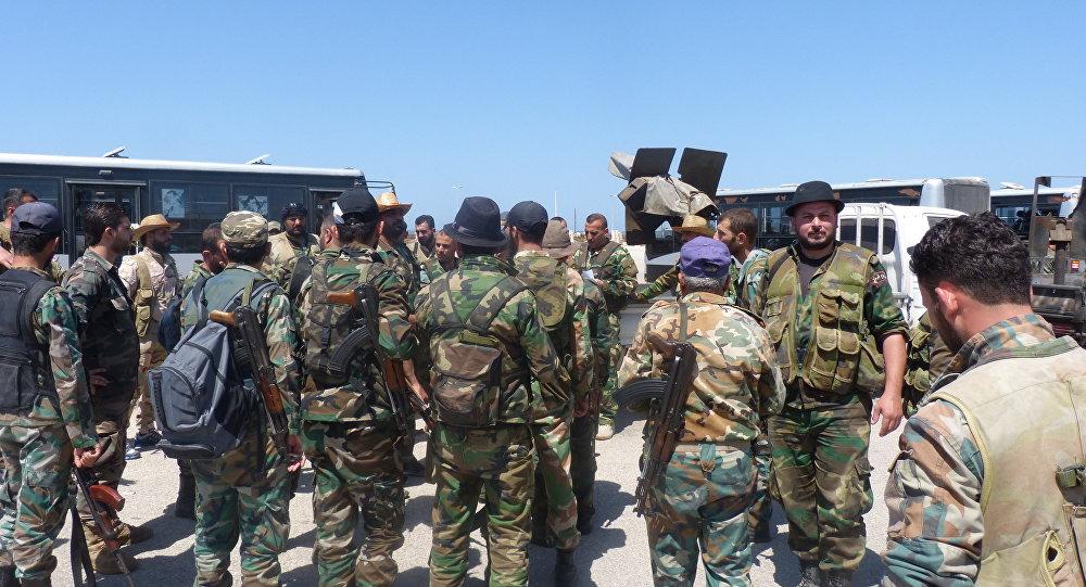 الجيش السوري في ريف حماة