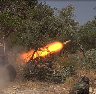صواريخ الجيش السوري أجبرت المسلحين على الفرار من ريف اللاذقية