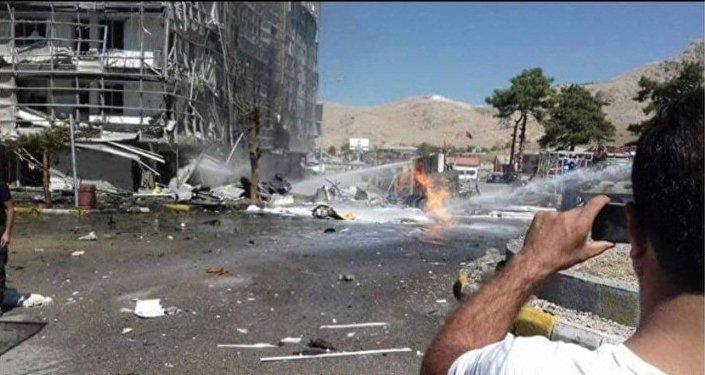 تفجير مدينة فان 12.09.2016