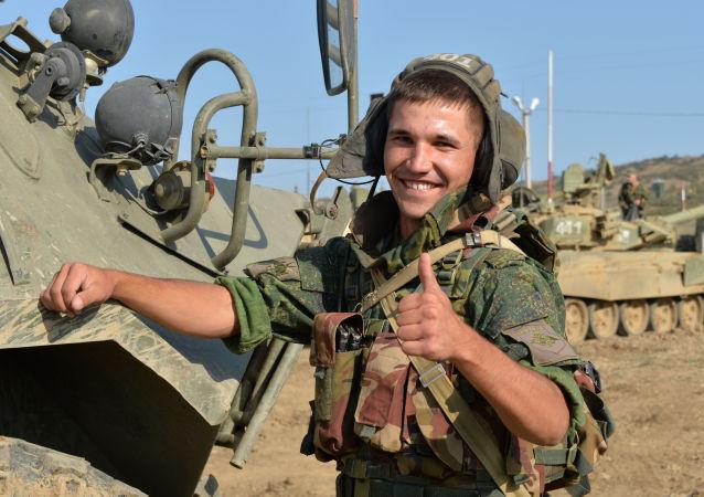 آليات تابعة للجيش الروسي في المنطقة العسكرية الجنوبية