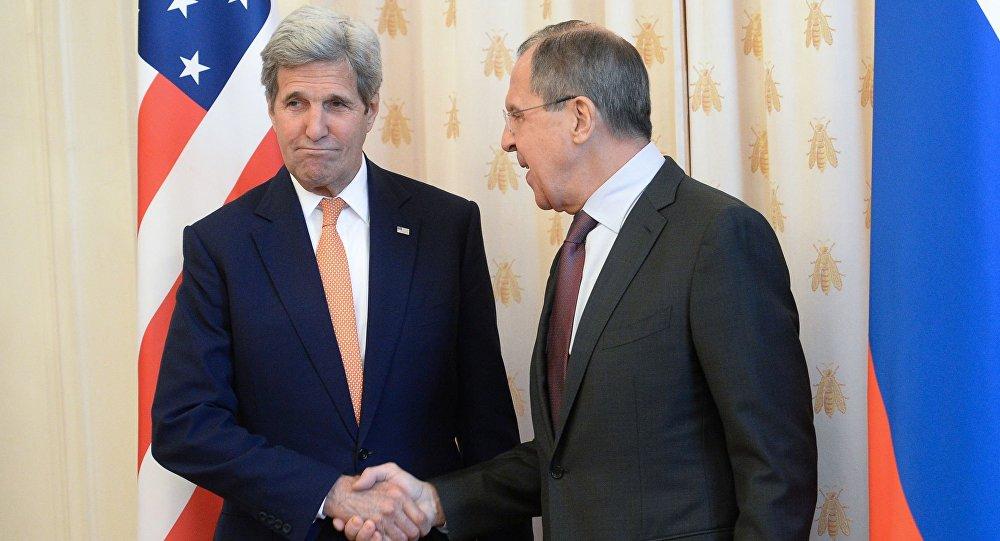 لقاء لافروف وكيري في موسكو
