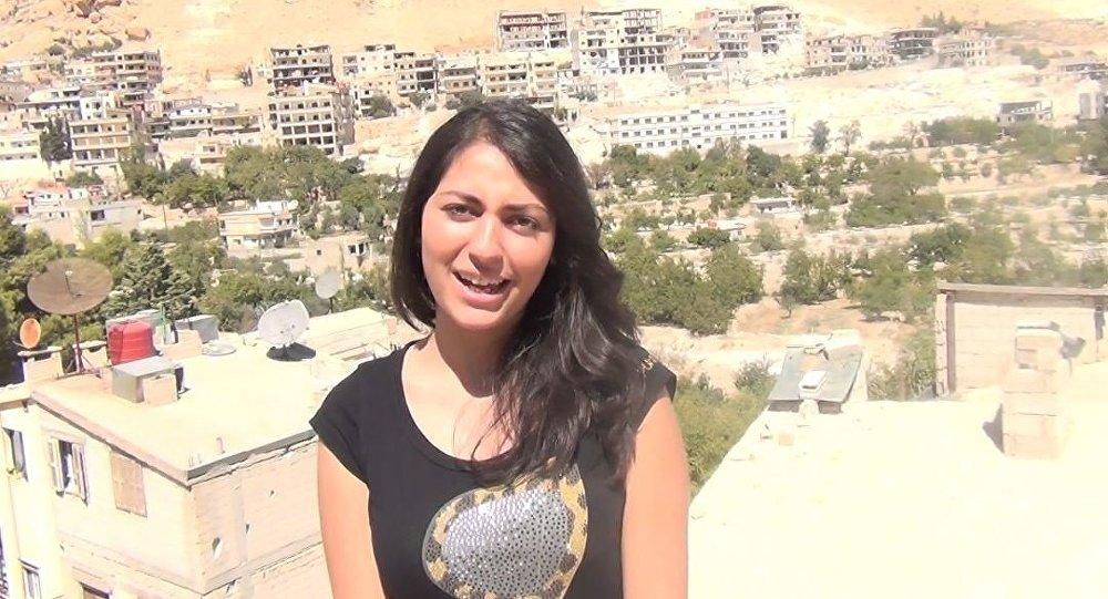 ماذا قالت الفتاة السورية عن روسيا بلغة المسيح
