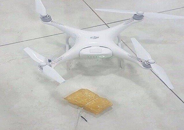 طائرة بدون طيار لنقل المخدرات