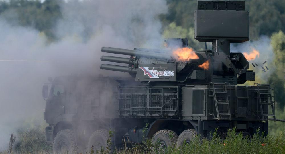 أنظمة الصواريخ الدفاعية الروسية 96كيه6 بانتسير - إس1