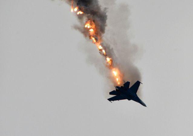 الطائرة متعددة المهام سوخوي 27 ضمن فرقة فرسان روسيا
