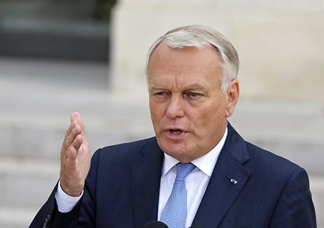 وزير الخارجية الفرنسي، جان مارك إيرولت