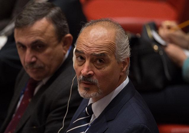 مندوب سورية الدائم إلى مجلس الأمن بشار الجعفري