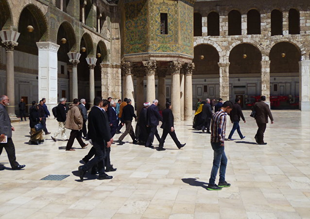 السياحة الدينية في سوريا