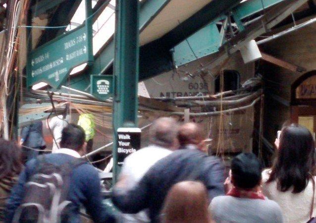 حادث قطار نيوجيرسي