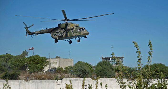 مروحية مي - 8 فى سوريا
