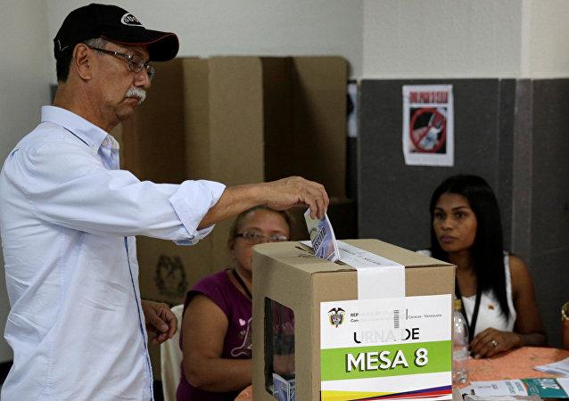 التصويت في كولومبيا