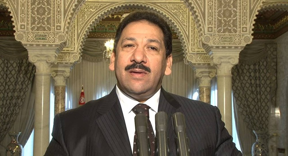 وزير الداخلية التونسي السابق لطفي بن جدو