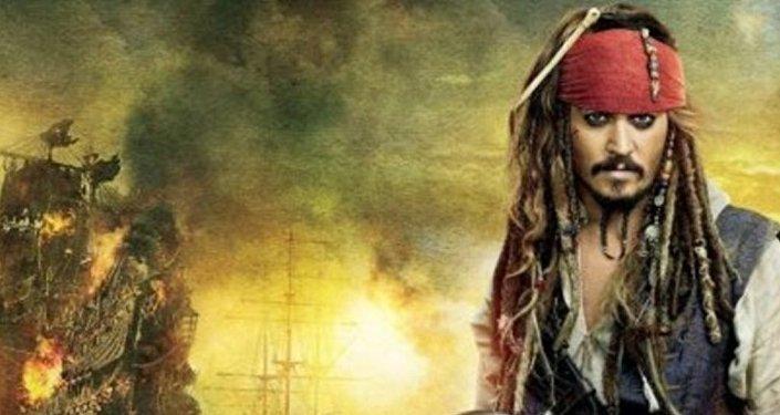 فيلم قراصنة البحر الكاريبي في جزئه الخامس