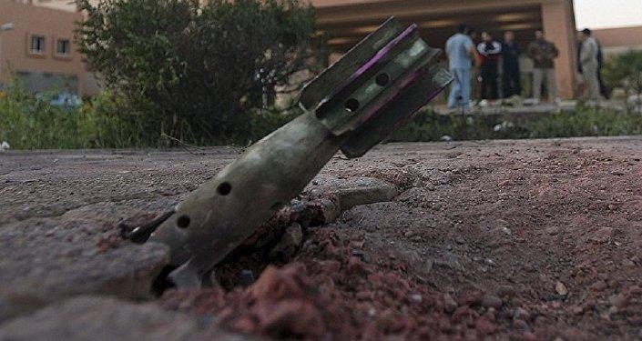 قصف السفارة الروسية في دمشق
