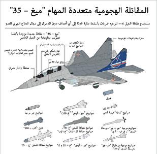 المقاتلة الهجومية متعددة المهام ميغ – 35