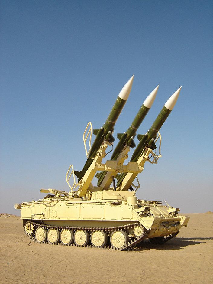 منظومة صواريخ سام - 6 مصرية