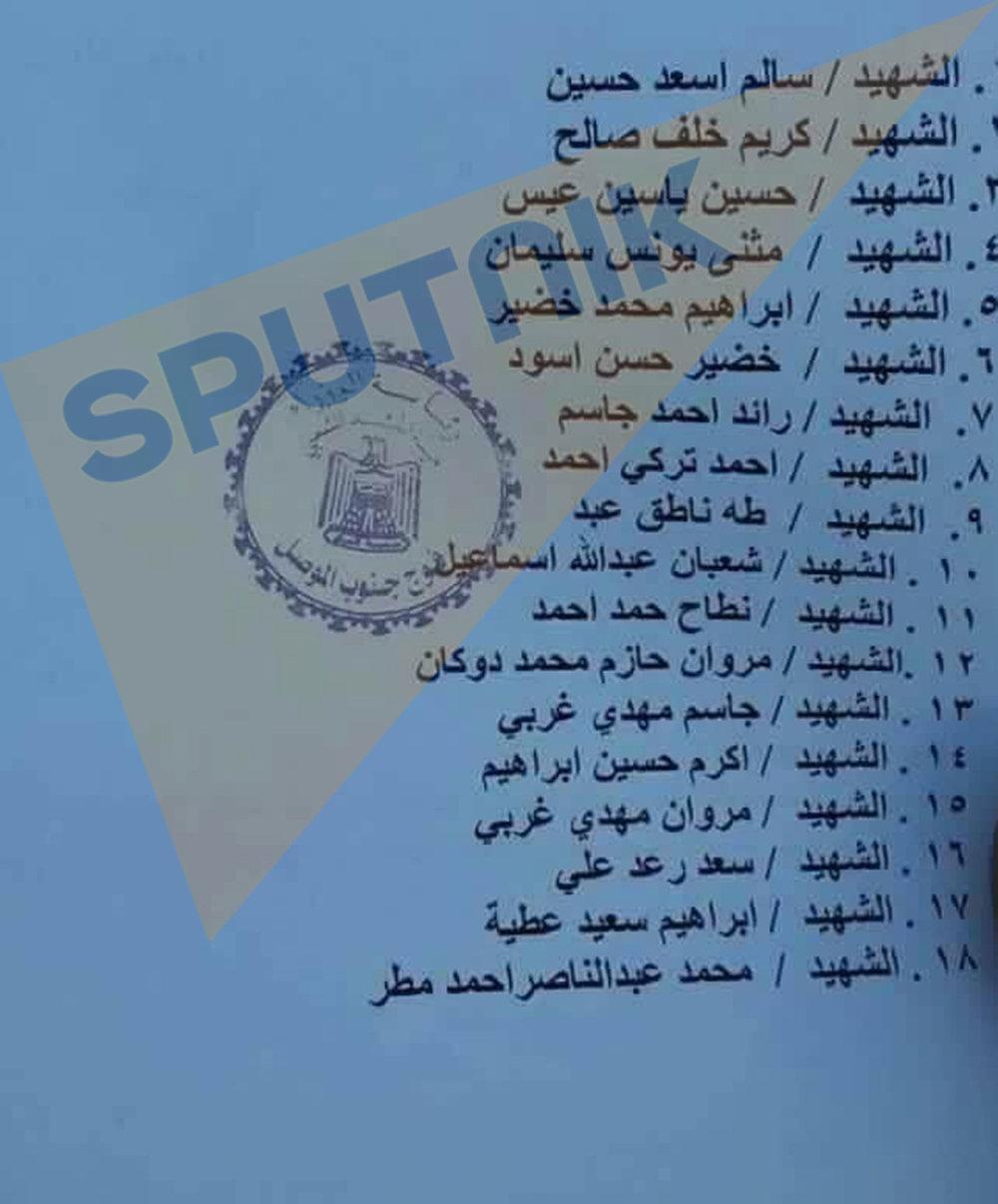 بالأسماء... قتلى الحشد العشائري بقصف للتحالف الدولي