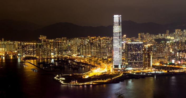 أبراج أي سي سي  (ICC) في هونغ كونغ