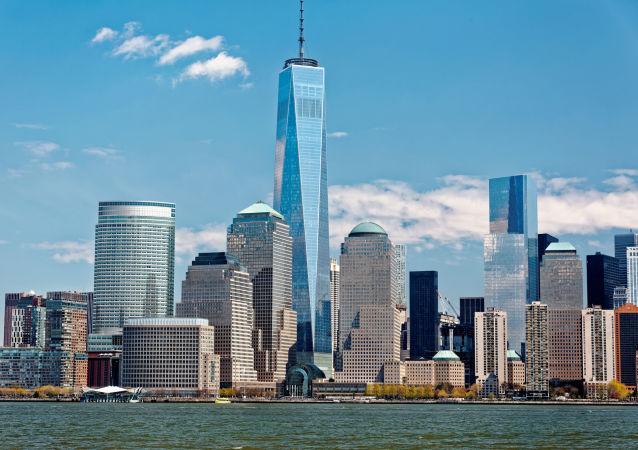 المركز التجاري العالمي في مدينة نيويورك