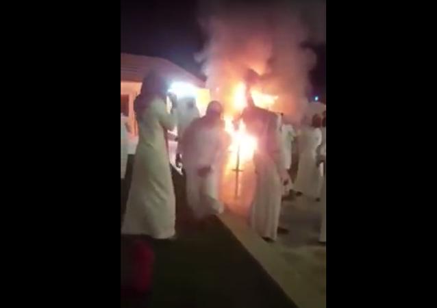 زفاف سعودي يتحول إلى كارثة