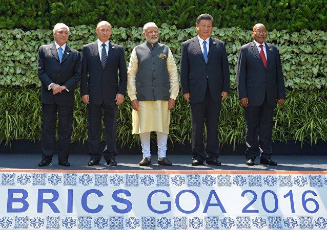 قمة بريكس في الهند