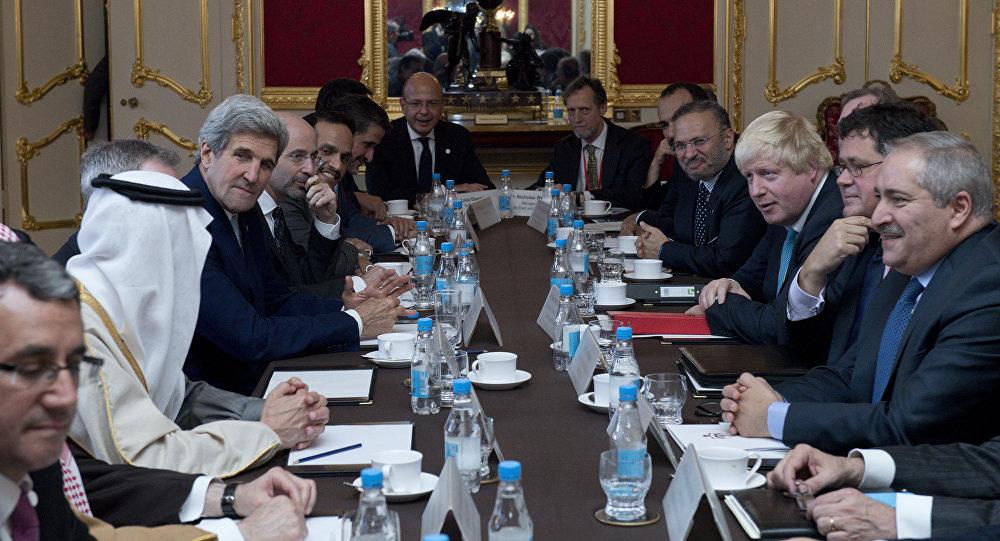 اجتماع في لندن حول سورية