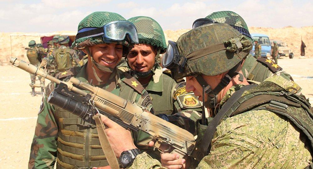 مناورات حماة الصداقة 2016 بين روسيا ومصر