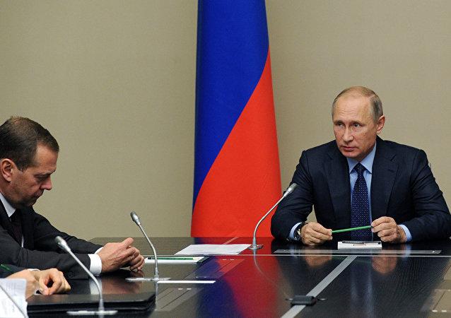 بوتين يرأس اجتماع مجلس الأمن الروسي
