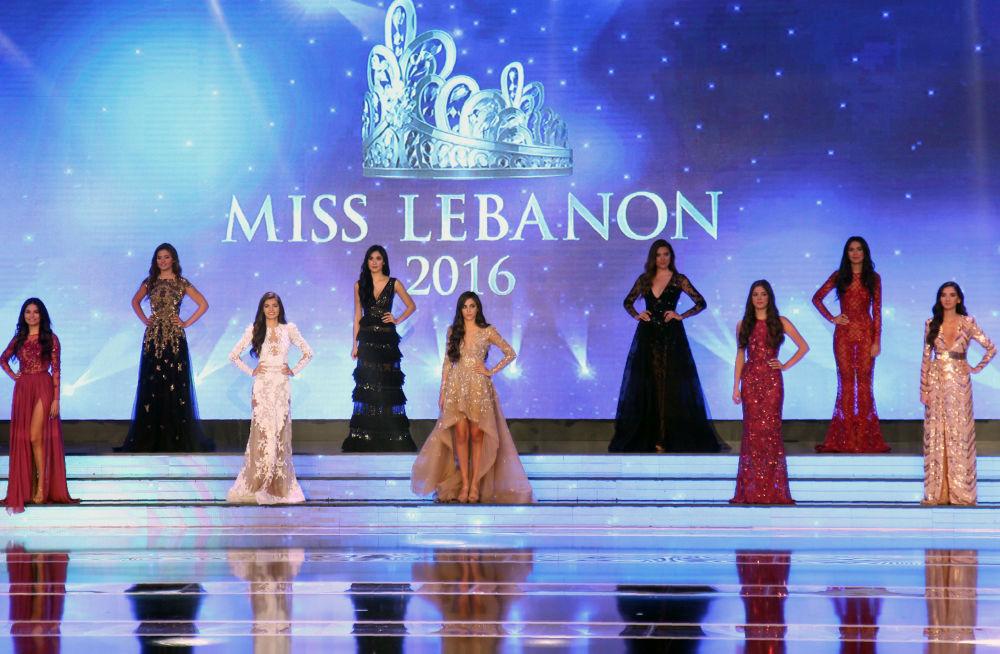 الفتيات المشاركات في مسابقة ملكة جمال لبنان لعام 2016، بيروت 22 أكتوبر/ تشرين الأول 2016
