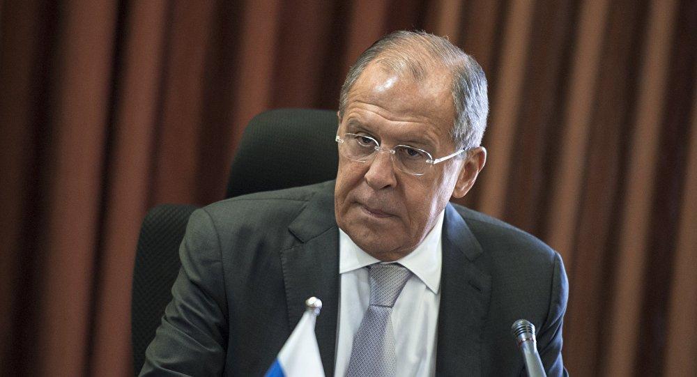 الوزير الروسي سيرغي لافروف