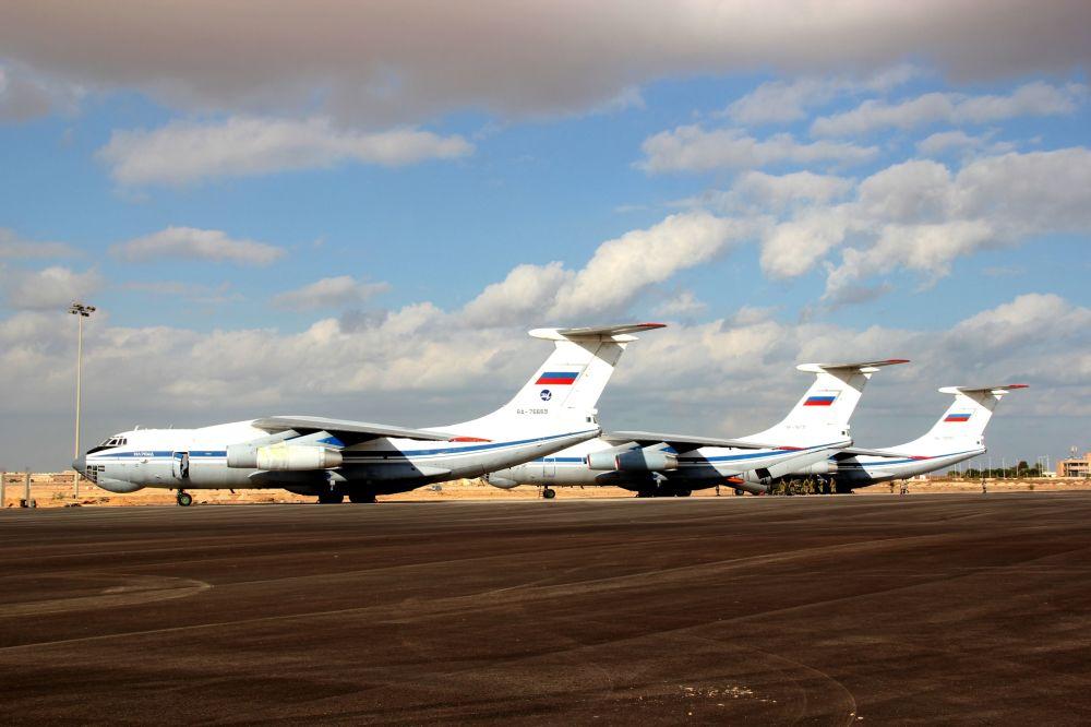 الطائرات الروسية خلال المناورات العسكرية حماه الصداقة - 2016