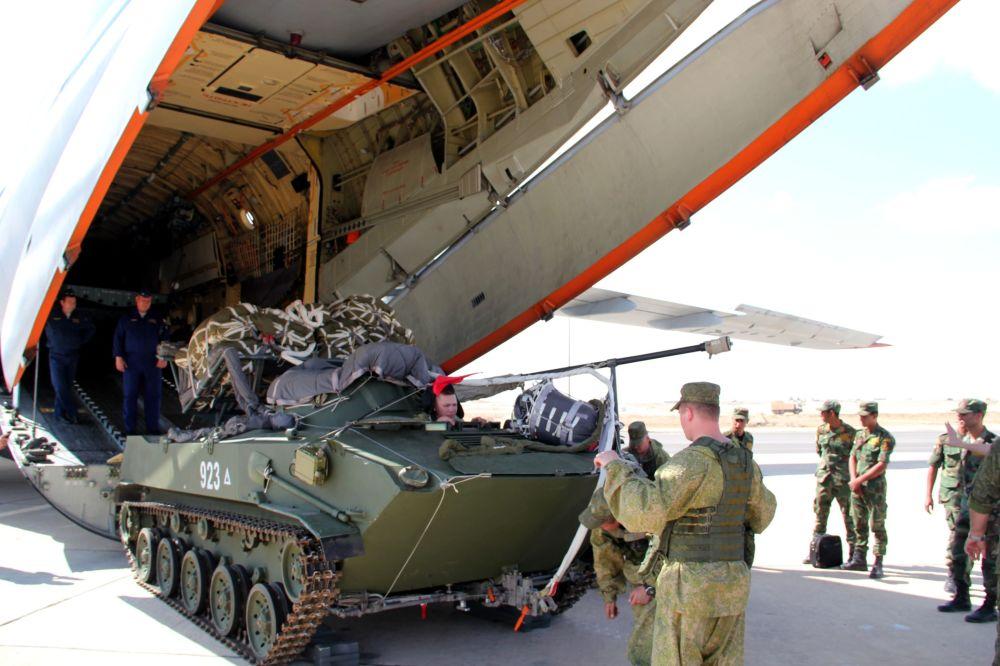 المناورات العسكرية المصرية الروسية