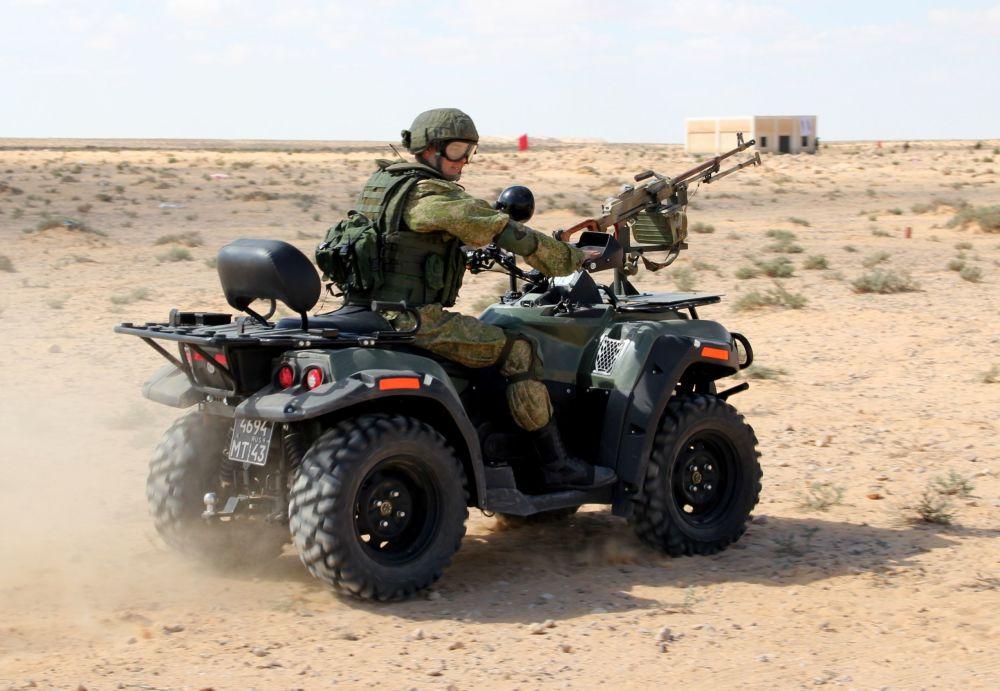 التدريبات العسكرية حماه الصداقة-2016