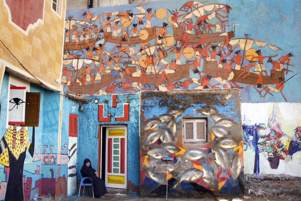 معرض اللوحات الفنية في كفر الشيخ