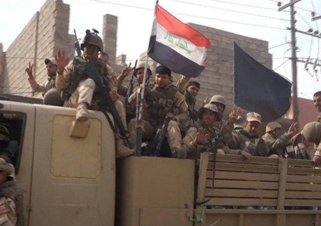 بالفيديو... الجيش العراقي يحرر بلدة مسيحية في الموصل