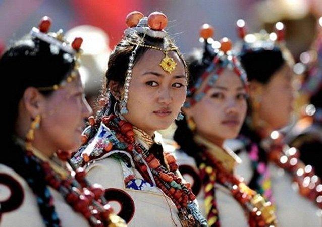 نساء بلاد التبت