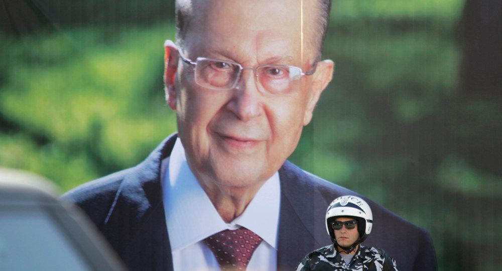 صورة الرئيس اللبناني ميشال عون