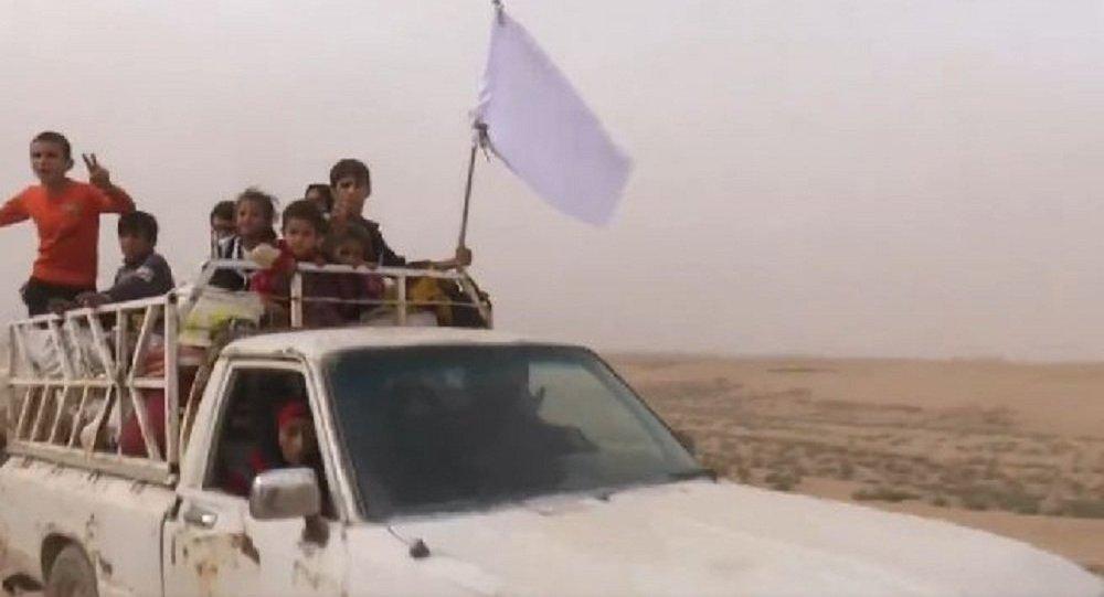 نزوح العوائل من الموصل