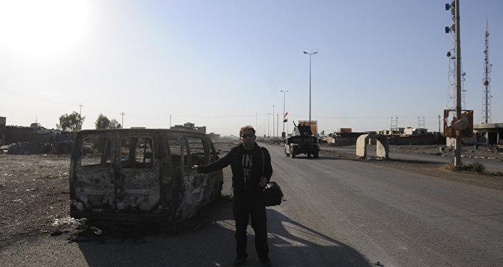 سبوتنيك في حي بمدينة الموصل التي حررتها القوات العراقية